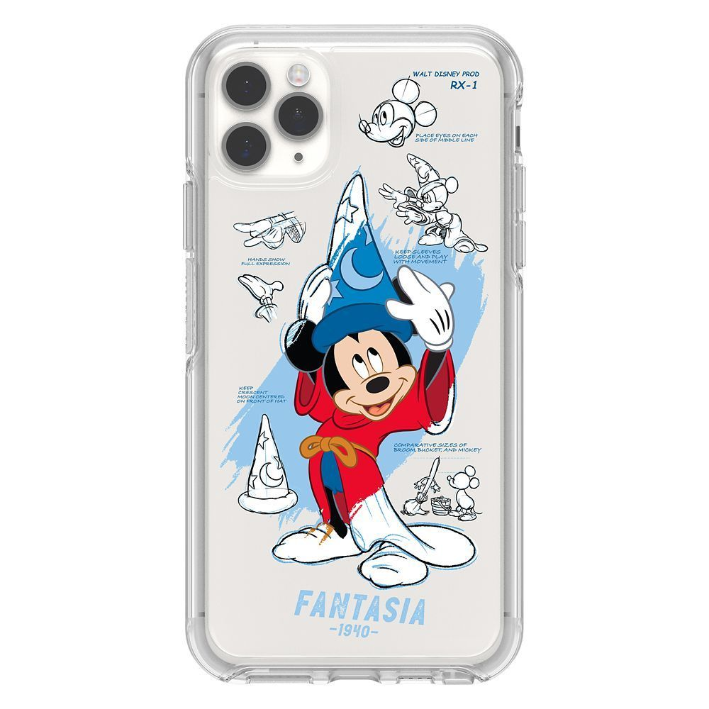 Sorcerer Mickey Mouse Iphone 11 Pro Max Case By Otterbox Disney Ink Paint In 2020 Disney Phone Cases Disney Cases Disney