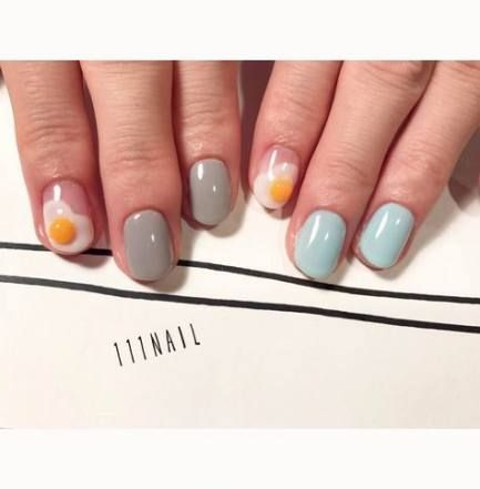 65 trendy ideas for nails grey mint nailart in 2020