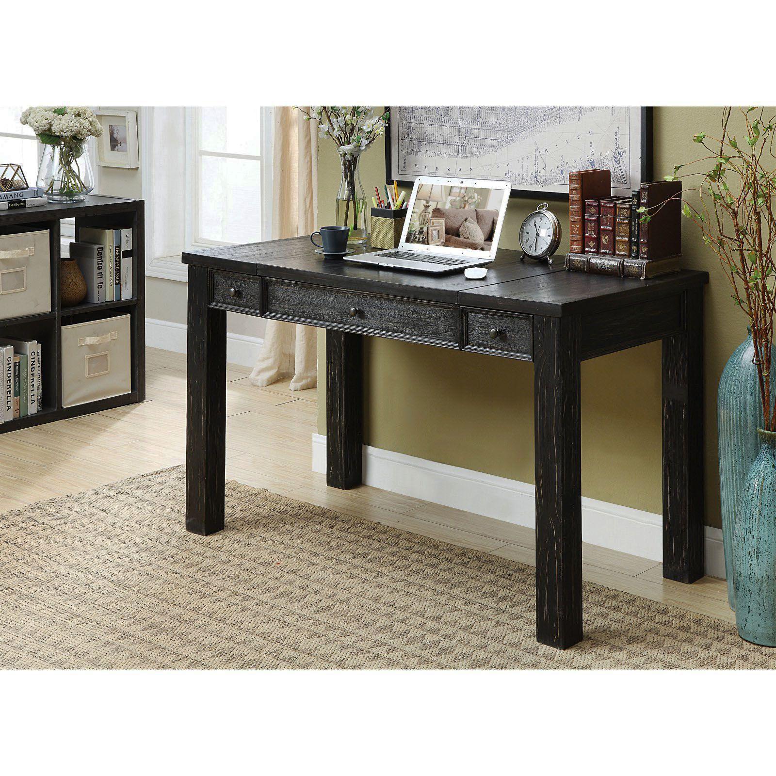 Superb Black Desk Legs For Your Cozy Home Rustic Writing Desk