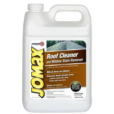 Zinsser 1 Gal Jomax Roof Cleaner 4 Pack 60701 Mildew Stains Mildew Remover Mold Mildew