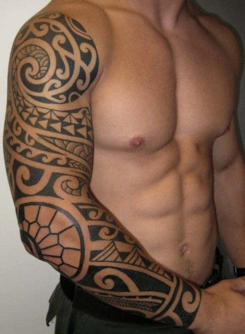 Best Maori Tattoo Designs Our Top 10 Tribal Sleeve Tattoos Polynesian Tribal Tattoos Tribal Arm Tattoos