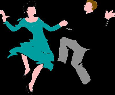 Illustration Of A Couple Dancing Couple Dancing Dance Ballroom Dancing