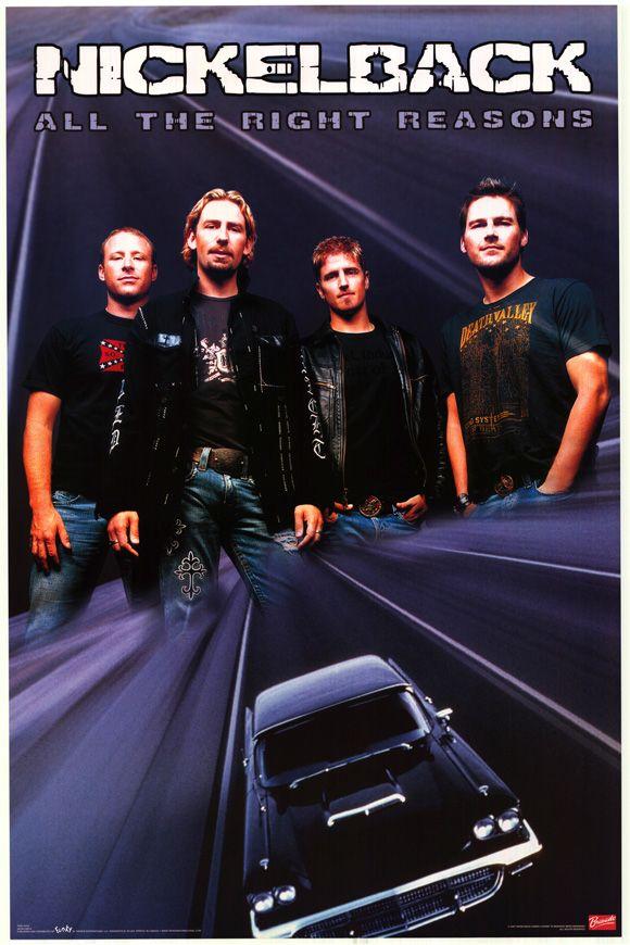 All The Right Reasons Album Nickelback Nickelback Nickelback