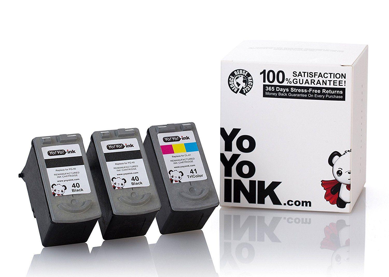 Canon Pg 40b Cartridge Tinta Printer Spec Dan Daftar Harga Terbaru 40 Bekas Remanufactured Black Cl 41 Color Ink Cartridges 2