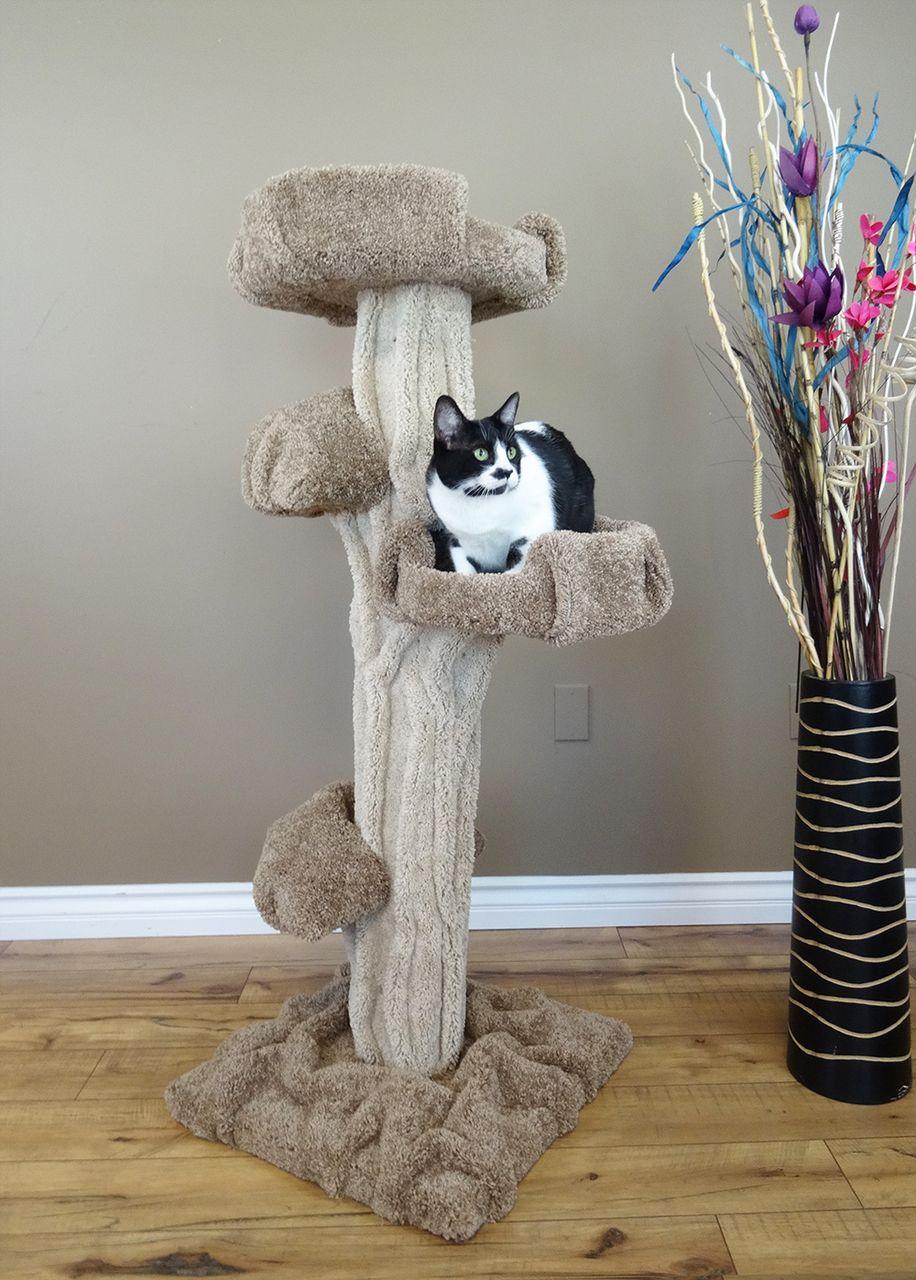 Unique Large Cat Tree Cat condo, Cat furniture, Large