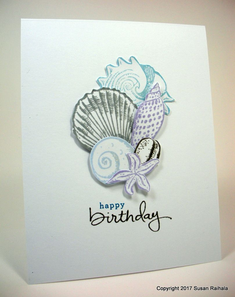 Peace Like A Seashell Inspirational Cards Happy Birthday Crafts