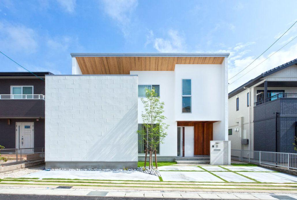 木の質感が引き立つデザインでナチュラルモダンな家を形に 施工実績