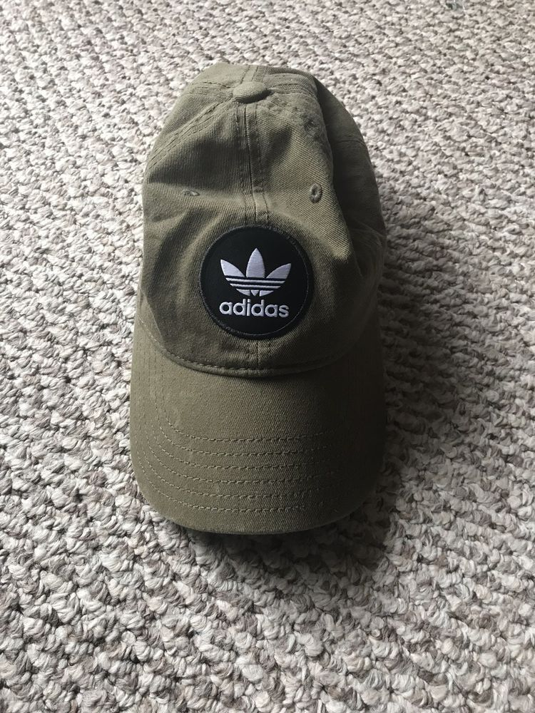 15c3bc37dddd4 Women s adidas Originals Trefoil Relaxed Strap Back Cap Hat Olive Green   fashion  clothing  shoes  accessories  womensaccessories  hats (ebay link)