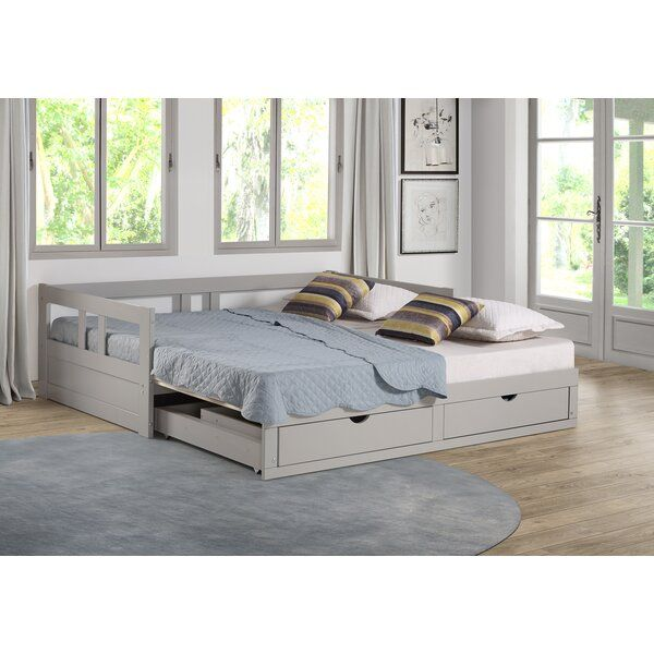 Bechtold Twin Daybed with Queen Trundle images
