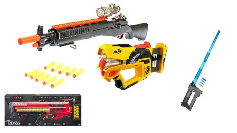There are tons of great new toy blasters on the market this year, with Nerf