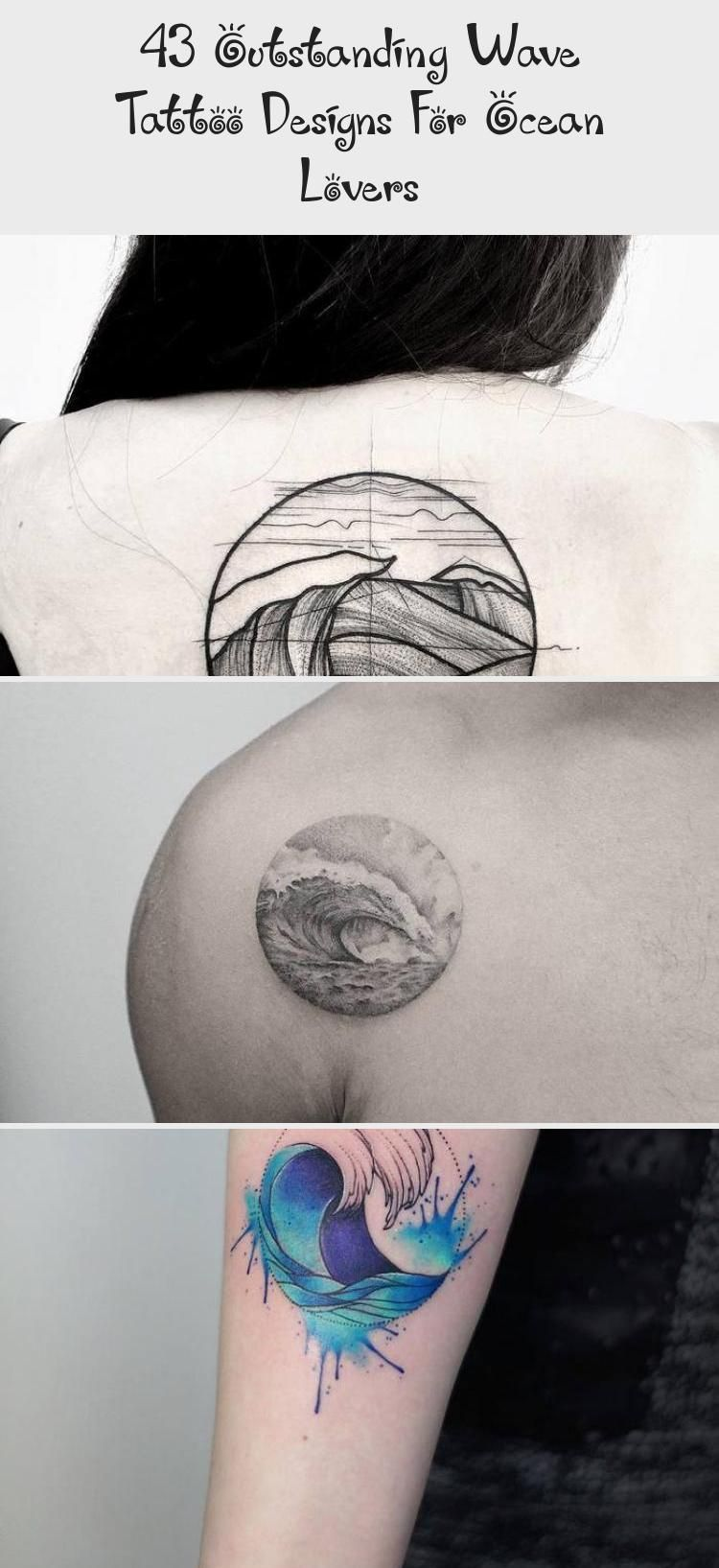 Photo of 43 Outstanding Wave Tattoo Designs For Ocean Lovers – ART