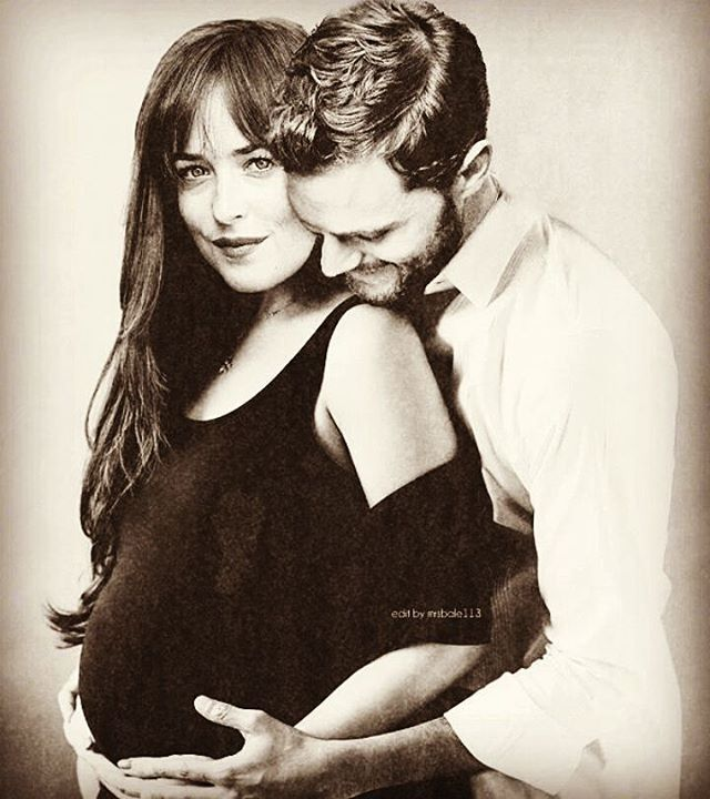 Barefoot Pregnant And In The Kitchen: Pregnant Ana And Papa Grey #fiftyshadesoffreed
