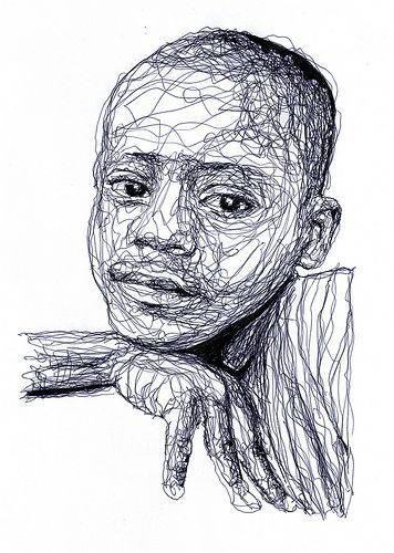Famous Artists Who Use Continuous Line Drawing : The gallery for gt blind contour drawing famous artists