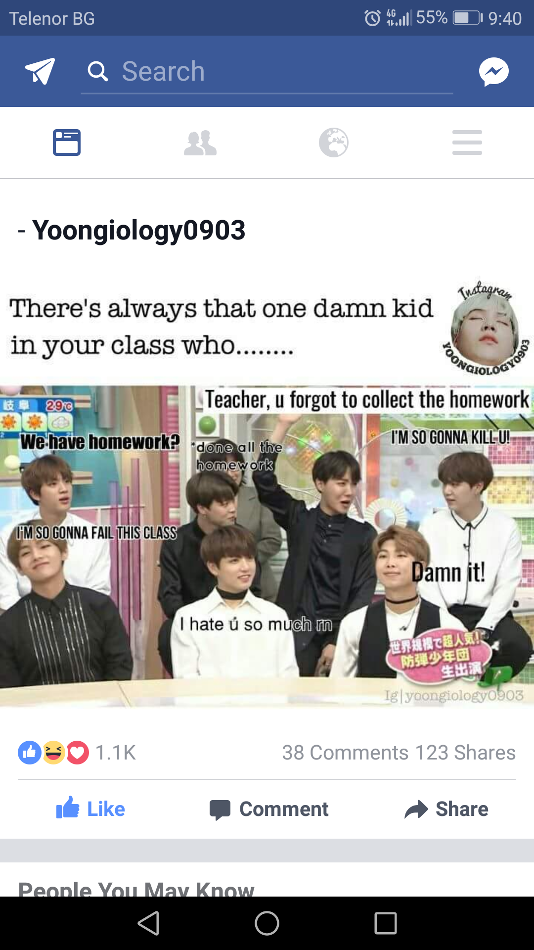 Not Gonna Lie I Am Sometime This Person But Hey It S Not My Fault You Dont Do Your Homework Bts Memes Bts Memes Hilarious Bts Funny