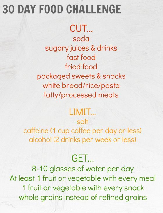 30 day weight loss meal plan