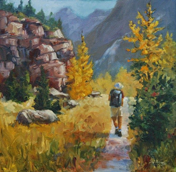 Sharon lynn williams 39 art blog a good day in the for Sharon williams paint