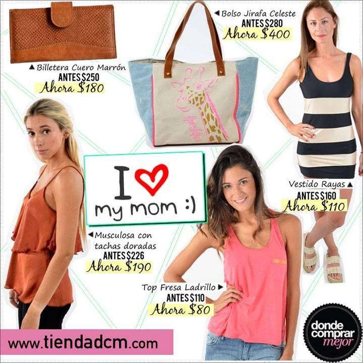 ESPECIAL DÍA DE LA MADRE  ¿Qué le vas a regalar a mamá de www.tiendadcm.com?