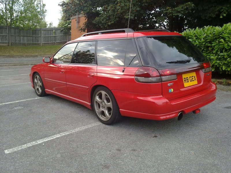 1998 BG5 Legacy GT-B LTD For Sale (Rare Red) - For Sale - UK