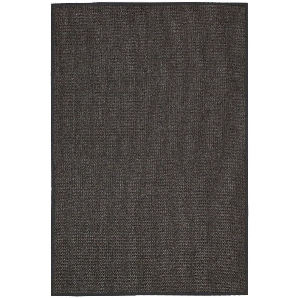 Nourison Kerala Charcoal Rug X Grey Size Sisal Nature