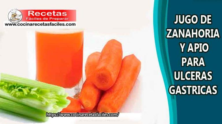 Jugo De Zanahoria Y Apio Para Ulceras Gastricas Jugos Medicinales Jugo De Zanahoria Jugos Jugos Para La Gastritis