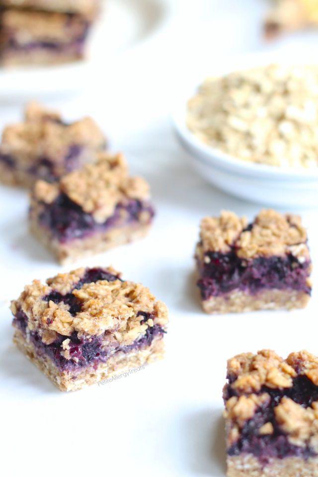 Gluten-Free Blueberry Breakfast Oat Bars - GoodHousekeeping.com