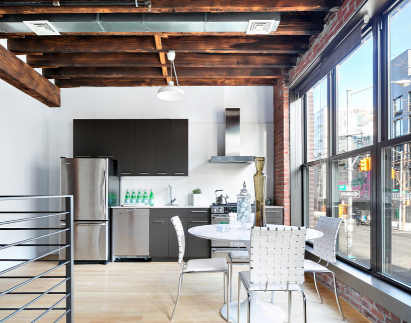 Industrial Design Loft with Chic Touches Industrial