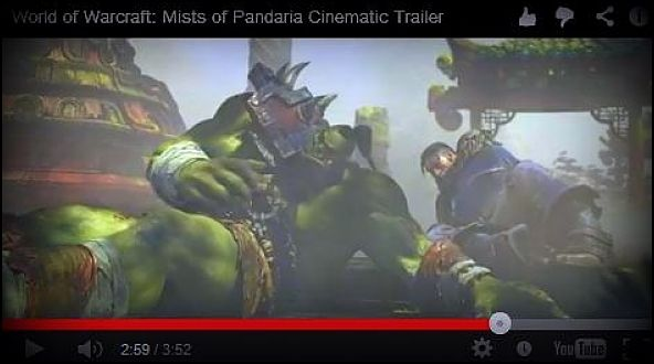 WoW Mists Of Pandaria Trailer #warcraft #MoP | WoW Mists Of
