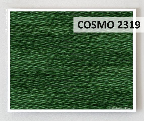 COSMO No. 2319 embroidery floss : Lecien Japan quilting by thecottageneedle