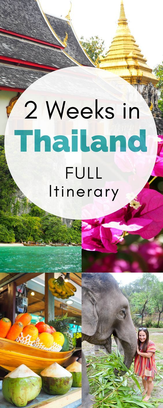 Two Weeks in Thailand: A Complete 14 Day Thailand Itinerary #vacationlooks