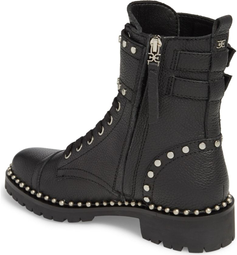 e1f948071aab8 Jennifer Studded Combat Boot