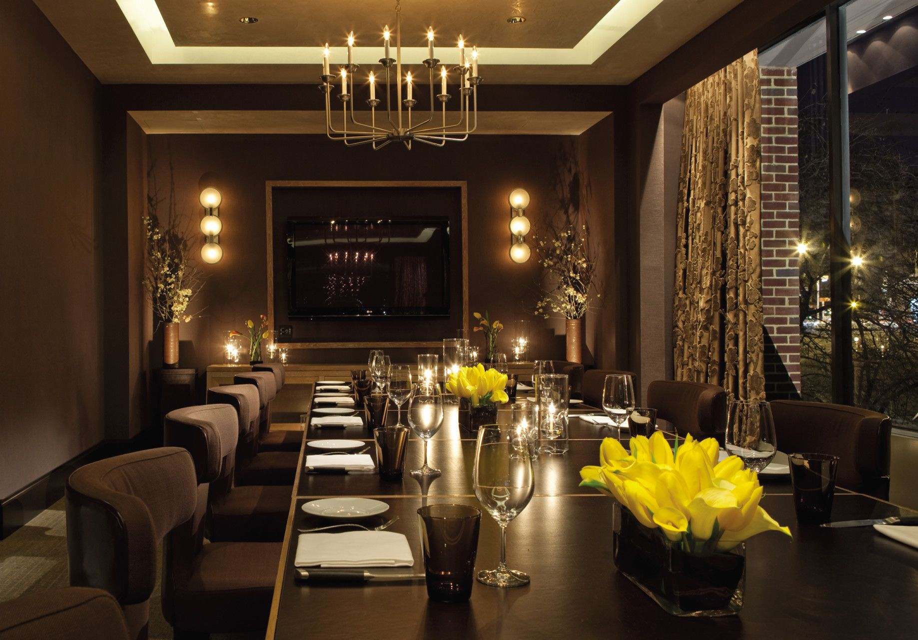 Bourbon Steak S Private Dining Room A Great E For Any Meeting Or Occasion