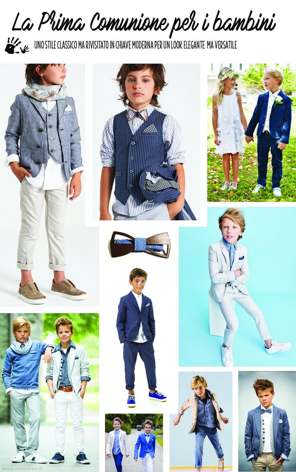 bel design gamma completa di articoli prodotti di qualità La Prima Comunione: scegliere il look perfetto - Mom&me