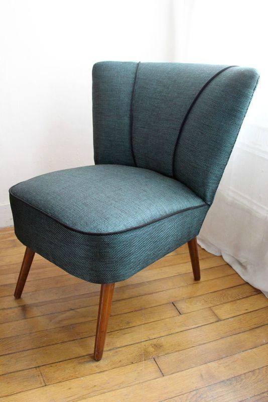 fauteuil cocktail des ann es 50 retour de chine muebles pinterest upholstery chair y. Black Bedroom Furniture Sets. Home Design Ideas