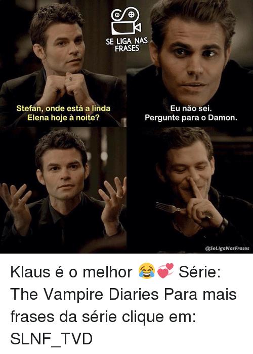 Resultado De Imagem Para Frases Tvd Diário De Um Vampiro Diários