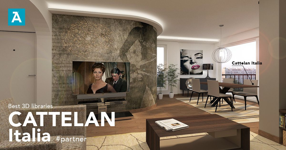 Cattelan Italia spa is an official partner and its exclusive ...