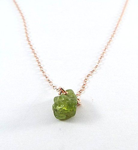 green necklace shop beadage stone raw natural collection peridot necklaces