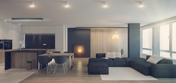 Genis Ve Modern Ev Dekorasyonu Ornekleri Interior Design Interior Interior Design Living Room
