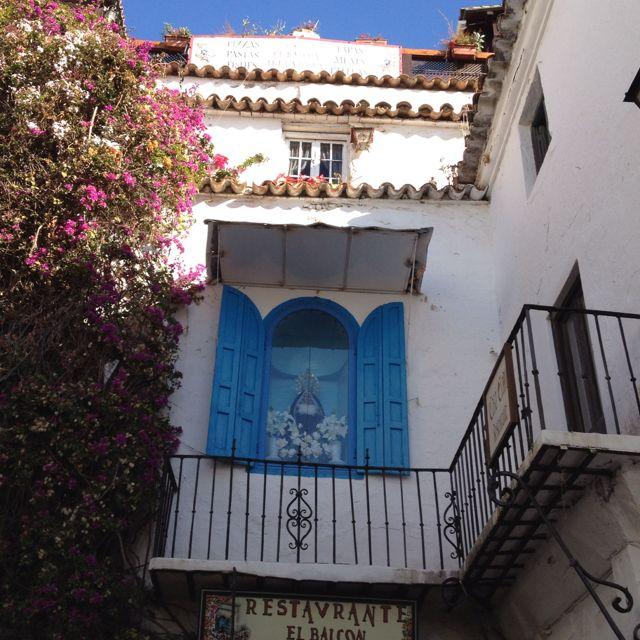 El balcón de la Virgen,Marbella.