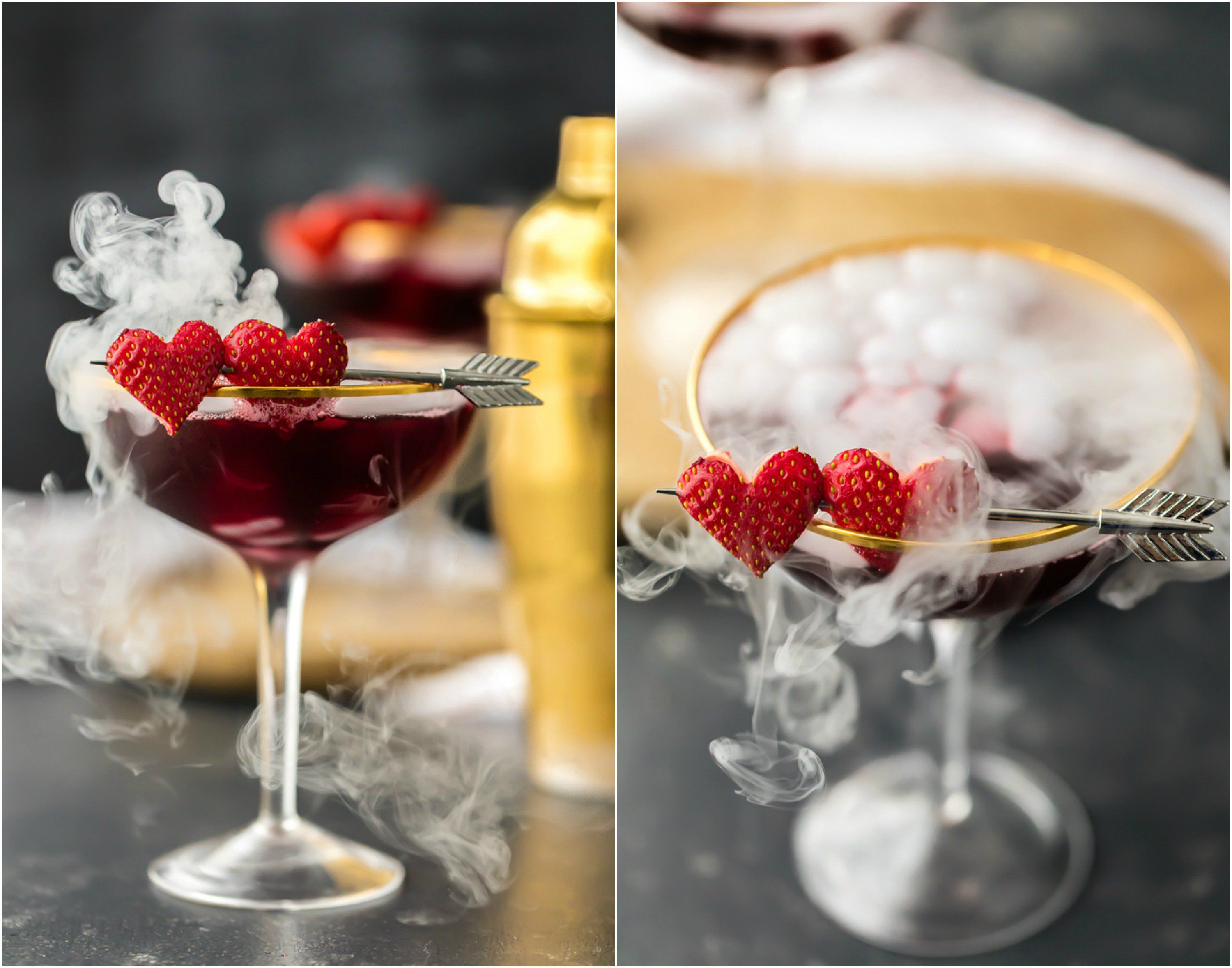 you need love potion martini for valentines day this is the cutest valentines day cocktail triple berry martini tastes great is beautiful and easy