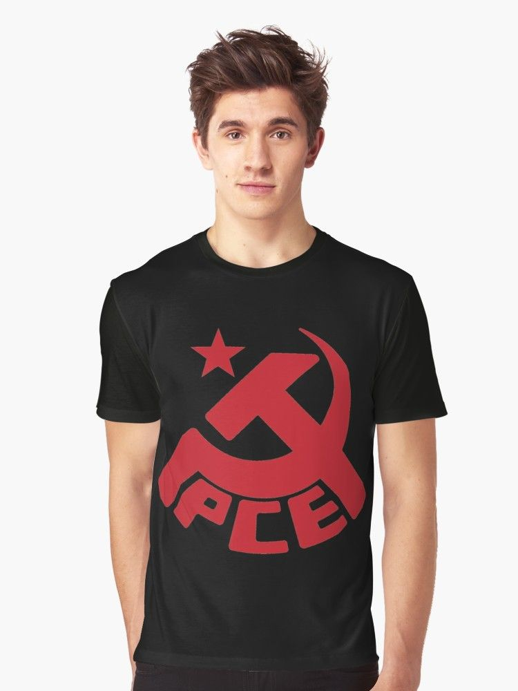 The Communist Party Of Spain Is A Historically Marxist Leninist Party That Since 1986 Is Part Of The United Left Coaliti Workers Party Mens Tops Mens Tshirts