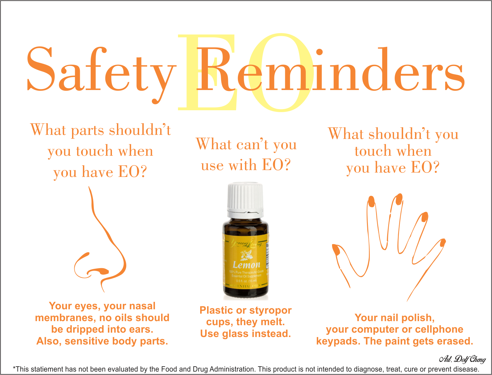 Essential oil safety reminders