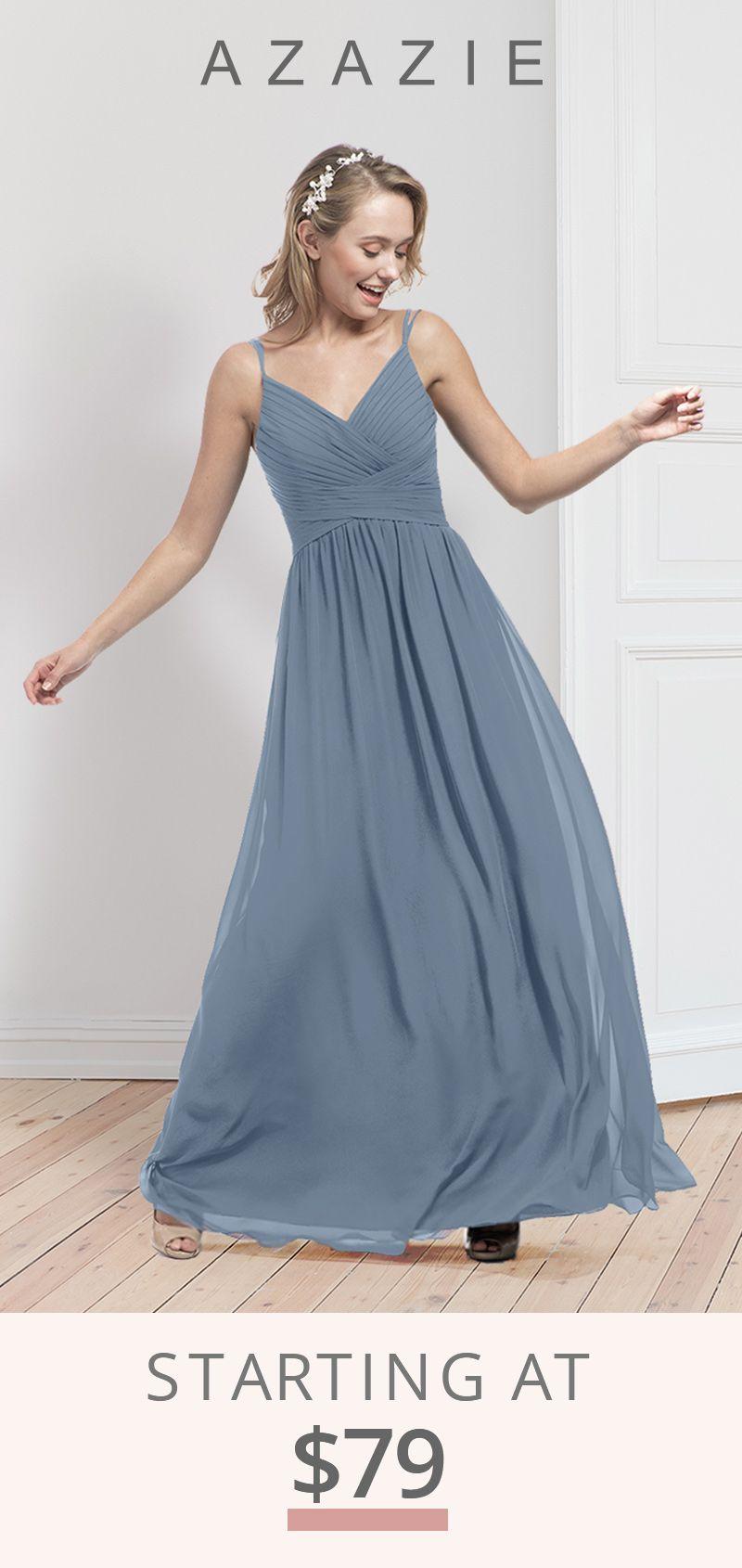 Azazie Blake Bridesmaid Dresses Bridesmaid Dresses Dresses Dusty Blue Bridesmaid Dresses [ 1690 x 800 Pixel ]