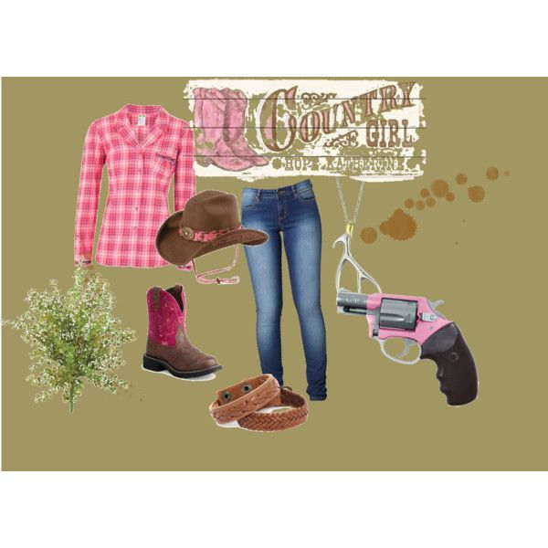 pink & country, created by kgigglez