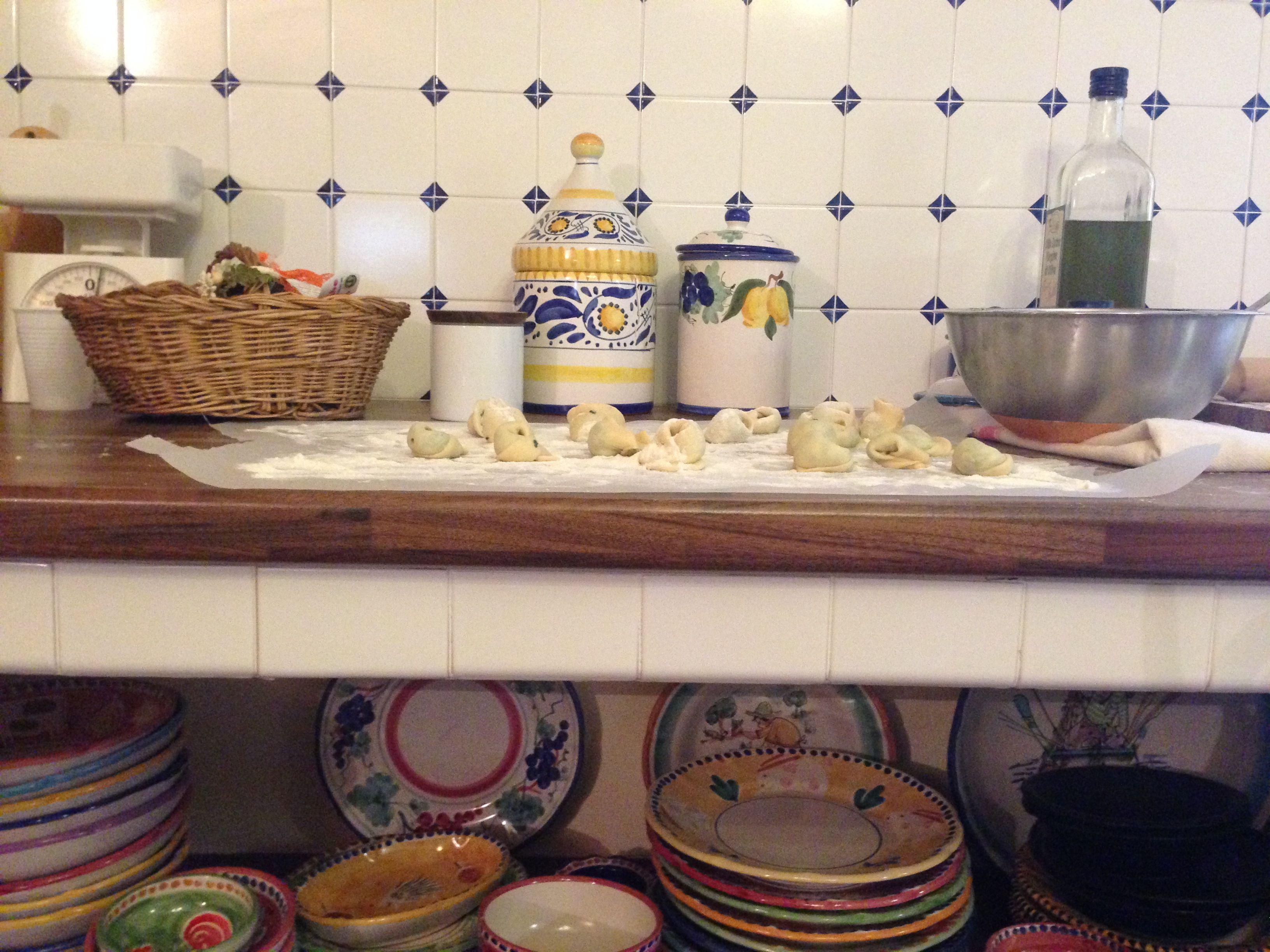 old recipes, old crockery