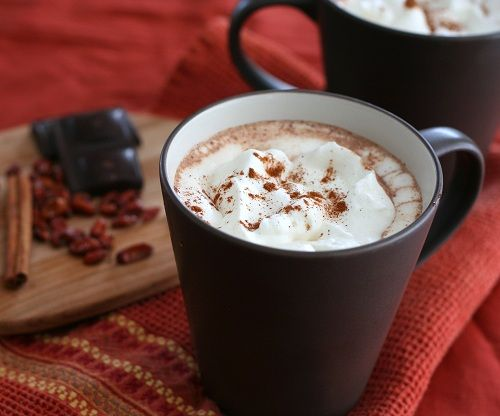 Low Carb Mexican Hot Chocolate Recipe @Carolyn Levine Ketchum