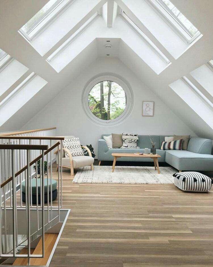 Omg The Windows And The Sunshine Brilliant Attic Bedroom Small Loft Room Attic Design