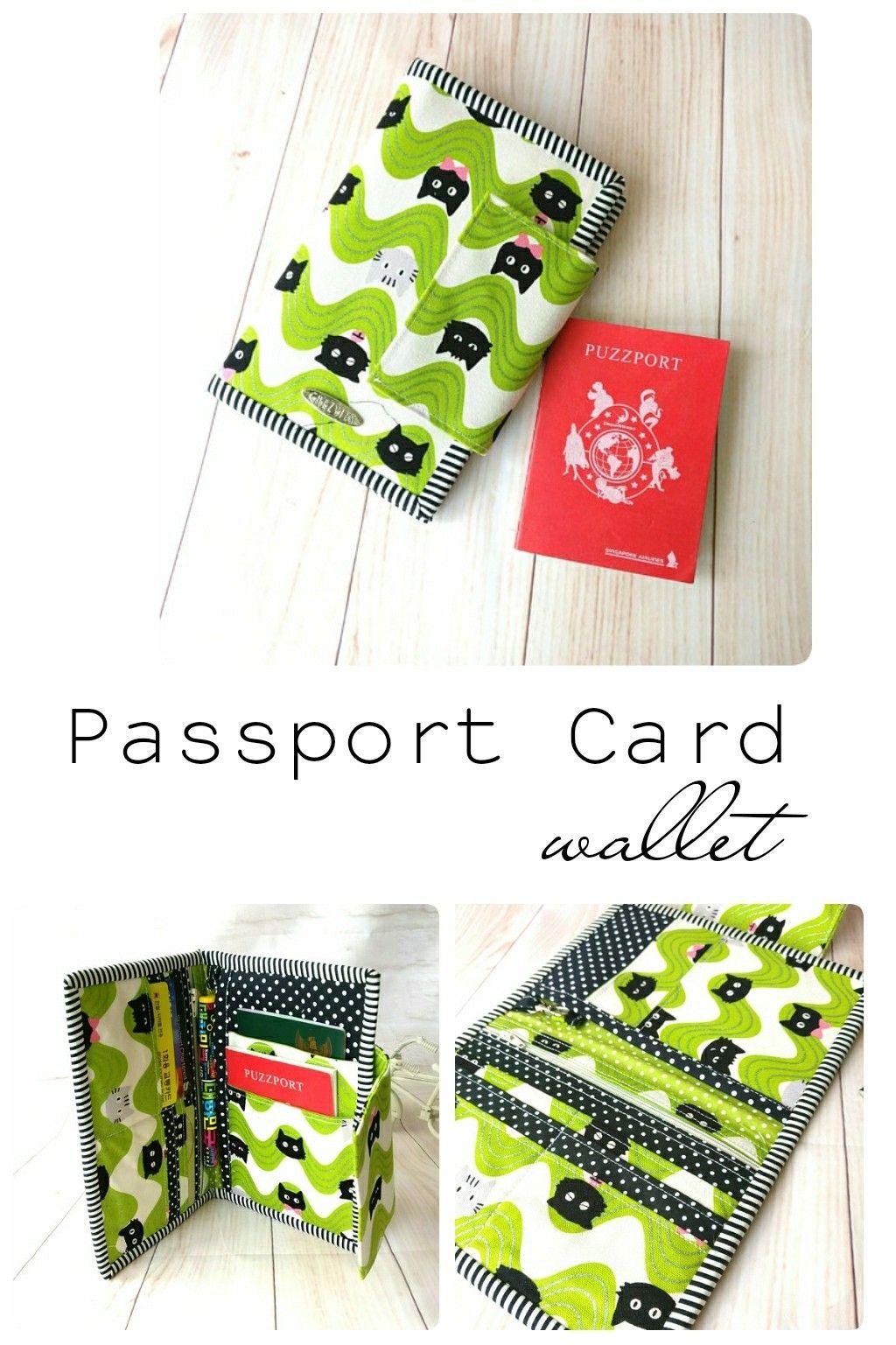 Passport Cover, Travel Wallet, Card Holder, Passport Holder, Travel ...