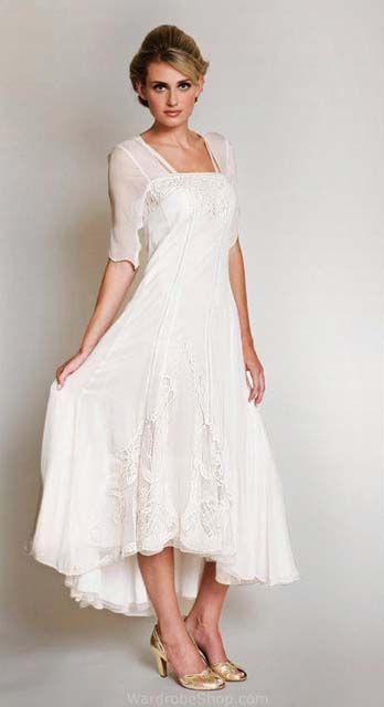 Kare yaka nostaljik gelinlik | Wedding Dresses / Gelinlik Modelleri ...