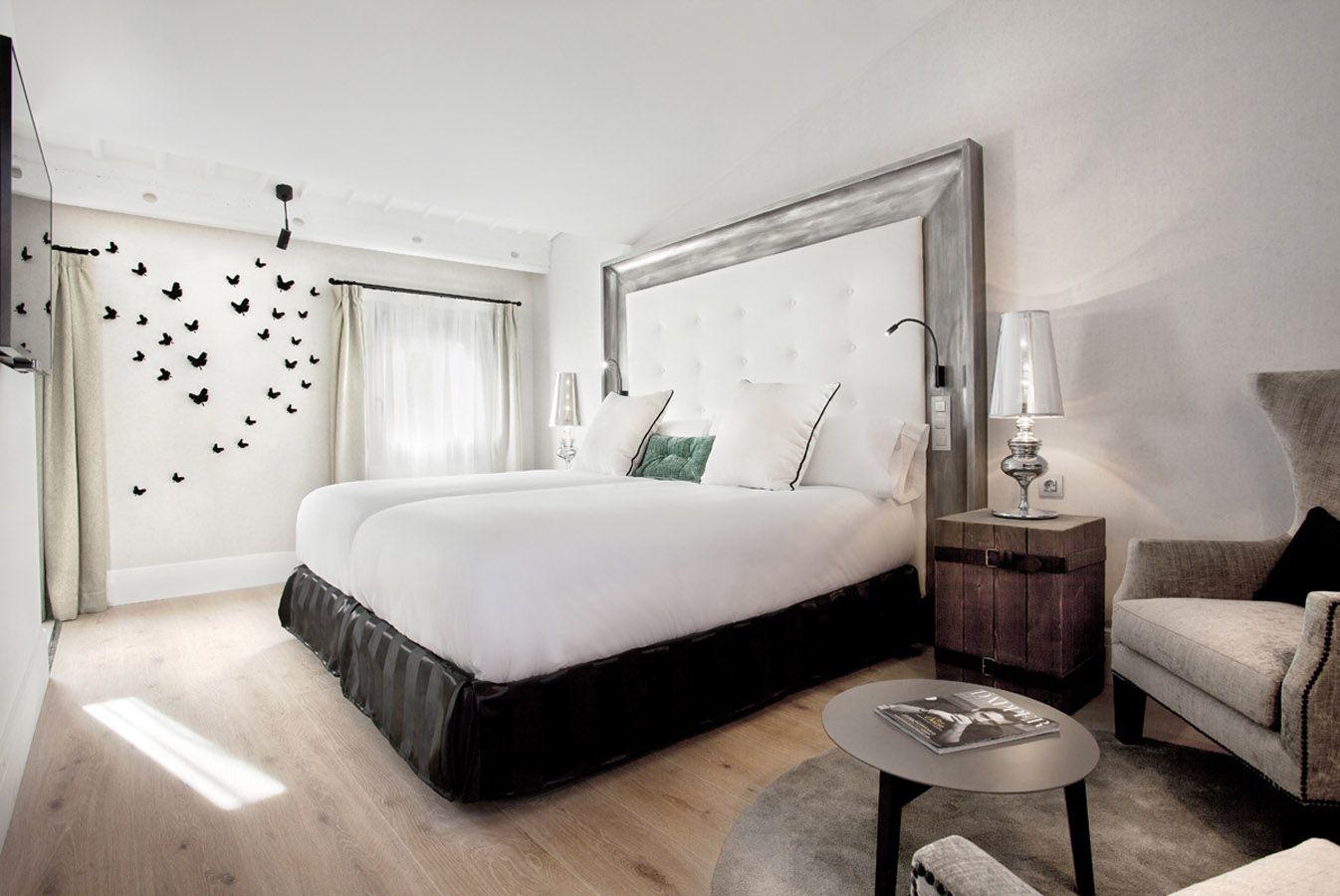 Me Gusta El Cabezal De La Cama Con Su Marco Espectacular Deco  # Muebles Hotel Mallorca