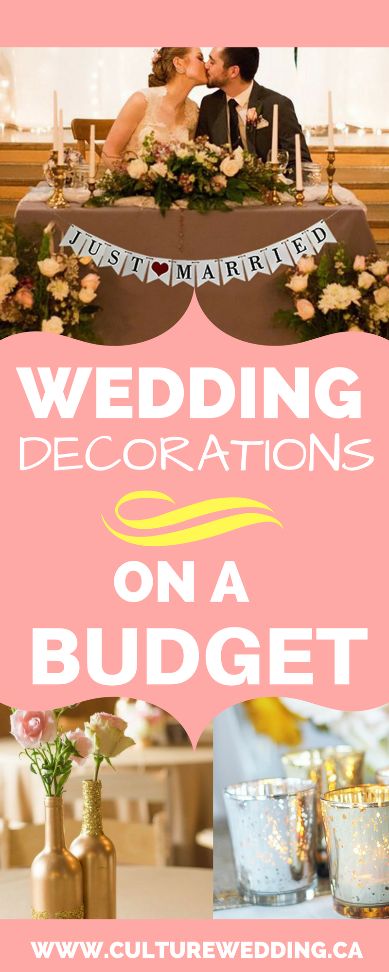 How to get wedding decorations on a budget - Get them now | Group ...